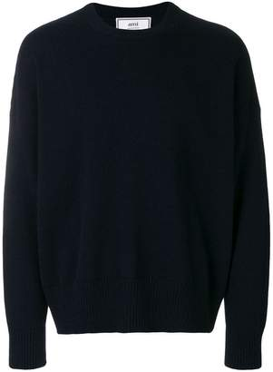 Ami Alexandre Mattiussi oversize fit crewneck sweater