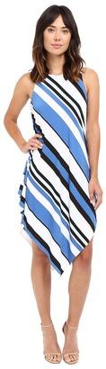Christin Michaels Lina Asymmetrical Tank Maxi Dress $69 thestylecure.com