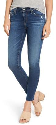 AG Jeans The Legging Raw Hem Ankle Skinny Jeans