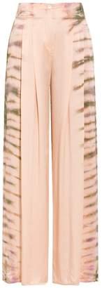 Raquel Allegra Silk Wide Leg Pants