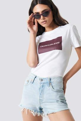 Calvin Klein Institutional Box Slim Fit Tee