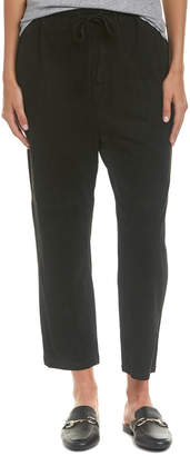 Vince Suede Track Pant