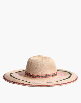 Madewell x Biltmore Tulum Striped Straw Hat