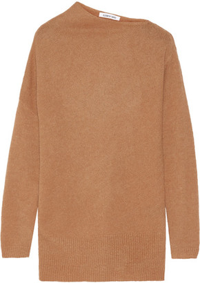 Elizabeth and James - Brady Knitted Sweater - Tan $325 thestylecure.com