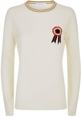 Bella Freud Rosette Cashmere Sweater