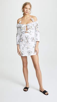 Isa Arfen 4 Knot Mini Dress