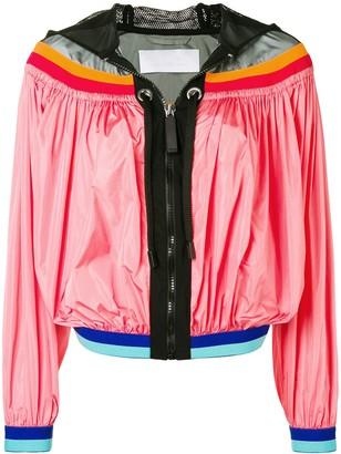 NO KA 'OI No Ka' Oi colour-block zipped jacket