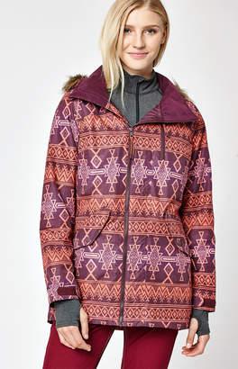Burton Multi Color Snow Hazel Jacket