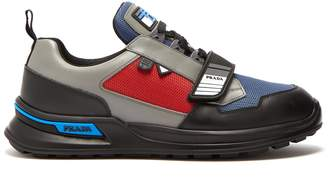 Prada Low-top leather trainers