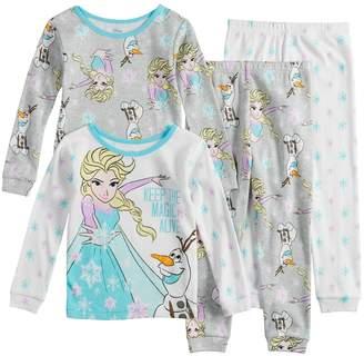 Disney Disney's Frozen Elsa & Olaf Toddler Girl Tops & Bottoms Pajama Set