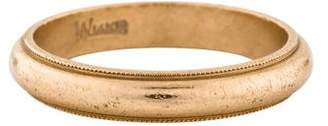 Ring 14K Milgrain Wedding Band
