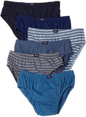 Hanes Ultimate Men's 6-Pack Classic Comfort Flex Waistband Sport Brief Underwear