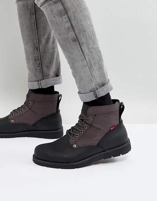 Levi's Levis Jax Leather Boots In Black