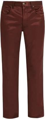 Calvin Klein Satin mid-rise trousers