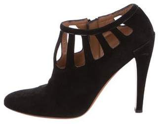 Alaia Cutout Pointed-Toe Booties