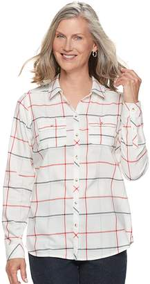 Croft & Barrow Women's Classic Soft Shirt