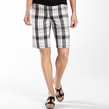 JCPenney St. John's Bay® Secretly Slender Bermuda Shorts