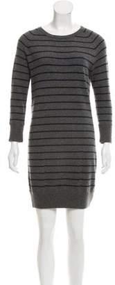 Rag & Bone Striped Cashmere Sweater Dress
