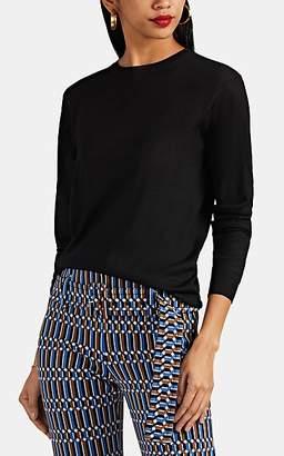 Prada Women's Wool Crewneck Sweater - Black