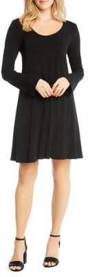 Karen Kane Taylor Long Sleeve Dress