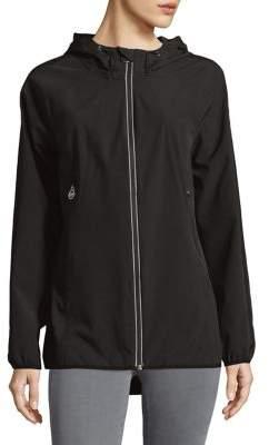 MICHAEL Michael Kors Zip Hooded Jacket