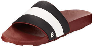 Bally Sleter Rubber Slide Sandal