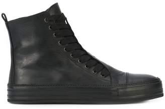 Ann Demeulemeester hi top sneakers