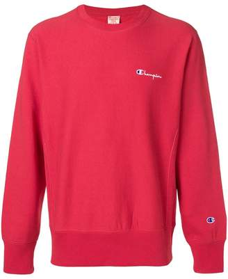 Champion small script sweatshirt