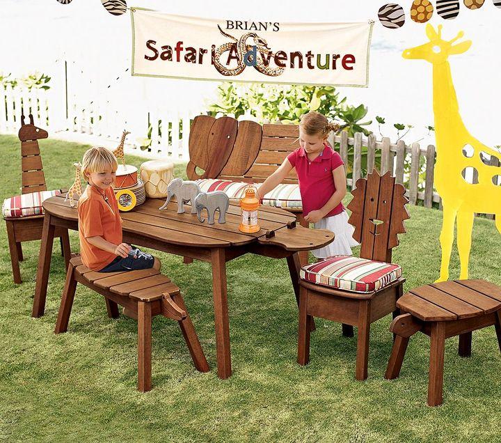 Safari Animal Chair Cushions