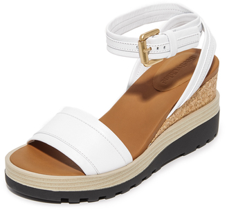See by Chloe Breton Wedge Sandals $295 thestylecure.com