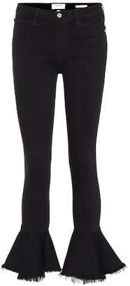 Frame Le Skinny De Jeanne Flounce jeans
