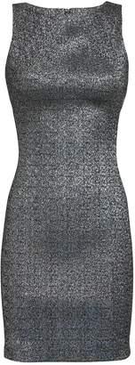 Versace Metallic Mini Dress