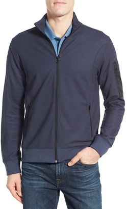 Men's Victorinox Swiss Army 'Fourier' Full Zip Track Jacket $155 thestylecure.com