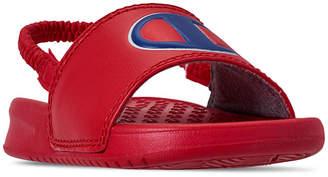 e672097bddb1 Champion Little Boys  Super Slide Sandals from Finish Line