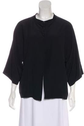 Rochas Crew Neck Long Sleeve Top