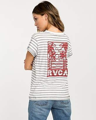 RVCA Junior's Couple Fun Ones Short Sleeve Pocket Tee