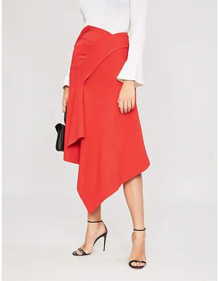 Roland Mouret Burke wool-crepe skirt