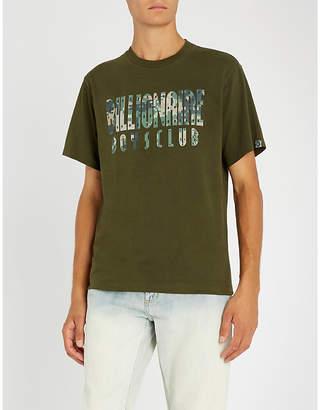 Billionaire Boys Club Digital camo-print overdye cotton-jersey T-shirt