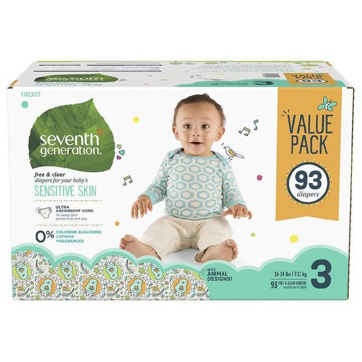 Seventh Generation Diapers Mega Pack