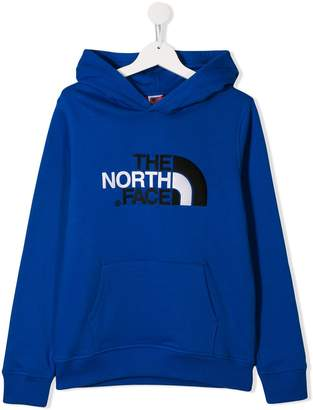 The North Face Kids logo hoodie