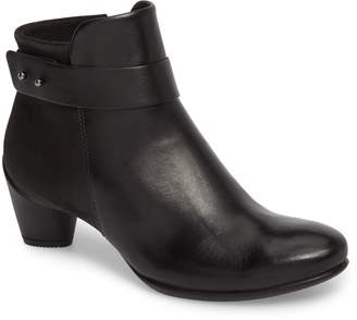 Ecco Sculptured 45 Buckle Bootie