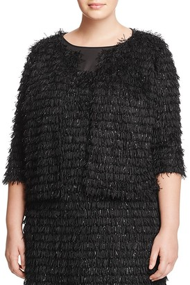 Marina Rinaldi Centro Fringe Jacket $715 thestylecure.com