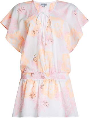 Juliet Dunn Printed Cotton Dress