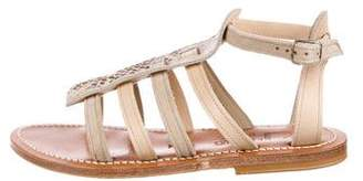 K Jacques St Tropez Parys Suede Sandals