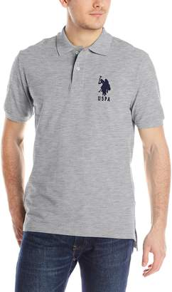 U.S. Polo Assn. Men's Solid Pique Polo