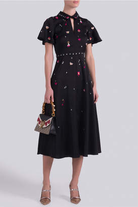 Temperley London Saturn Collar Dress