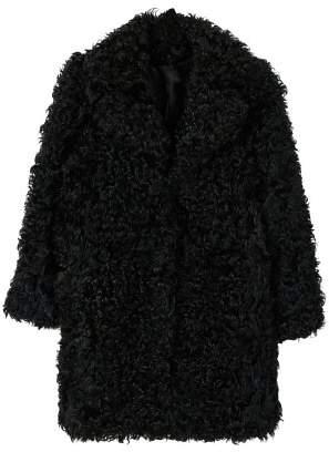 MANGO Fur boucl?? coat