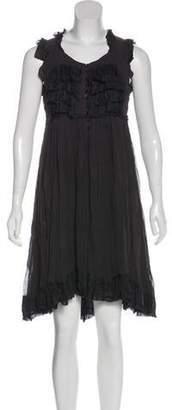 Robert Rodriguez Silk Midi Dress