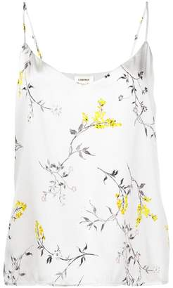 L'Agence floral print top