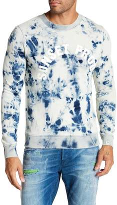Scotch & Soda Tie Dye Graphic Print Sweatshirt